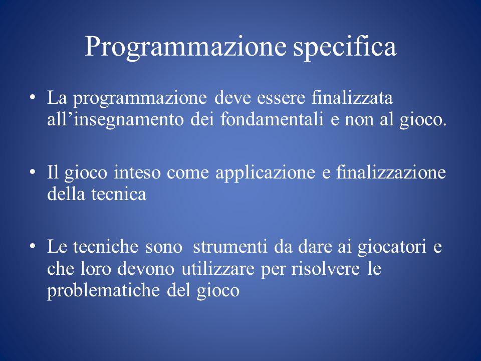 Programmazione specifica