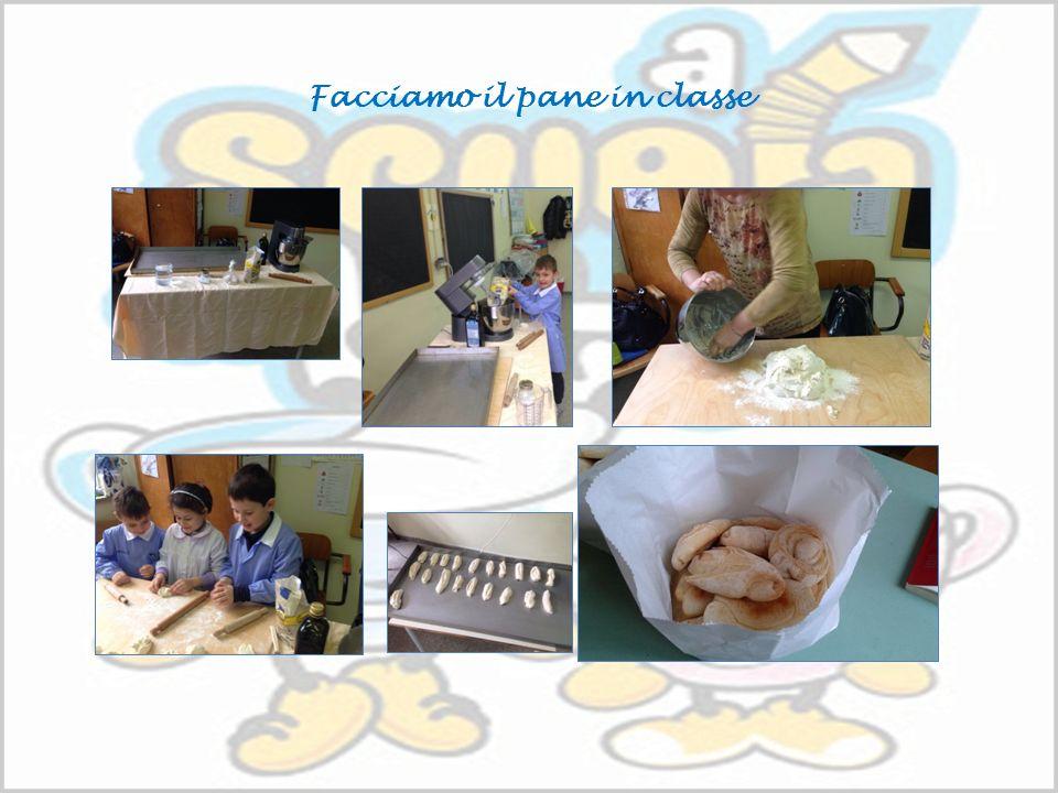 Facciamo il pane in classe