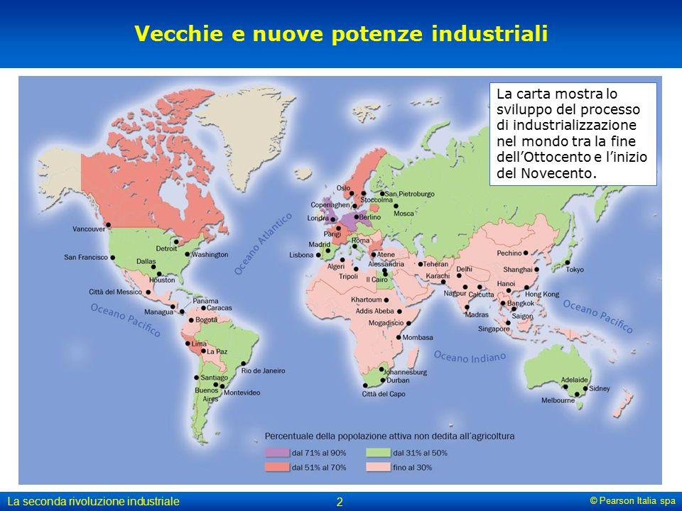 Vecchie e nuove potenze industriali