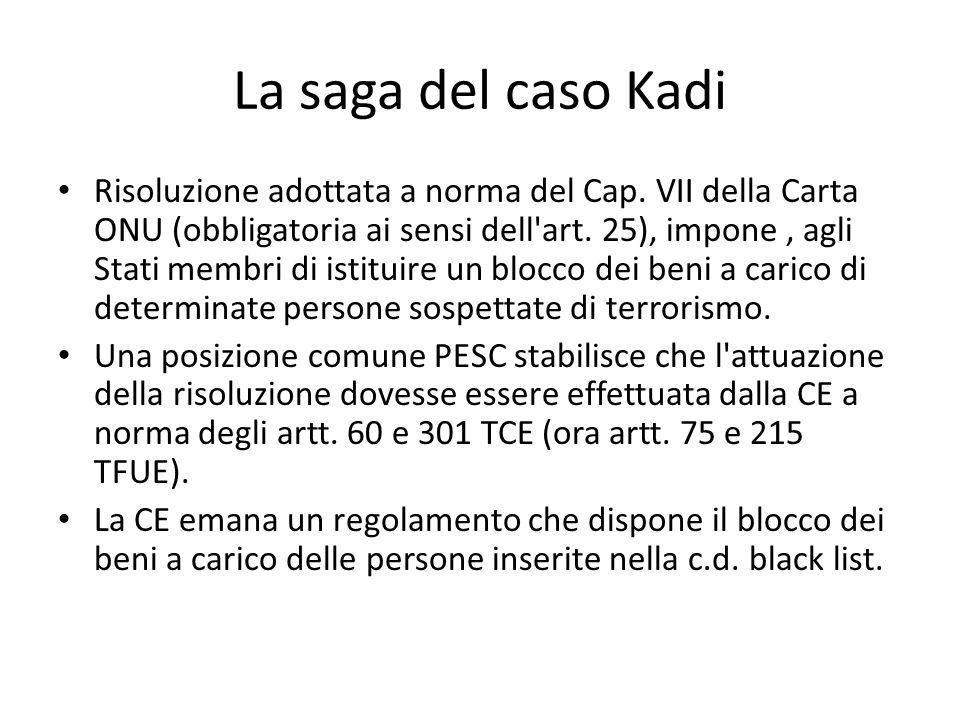 La saga del caso Kadi