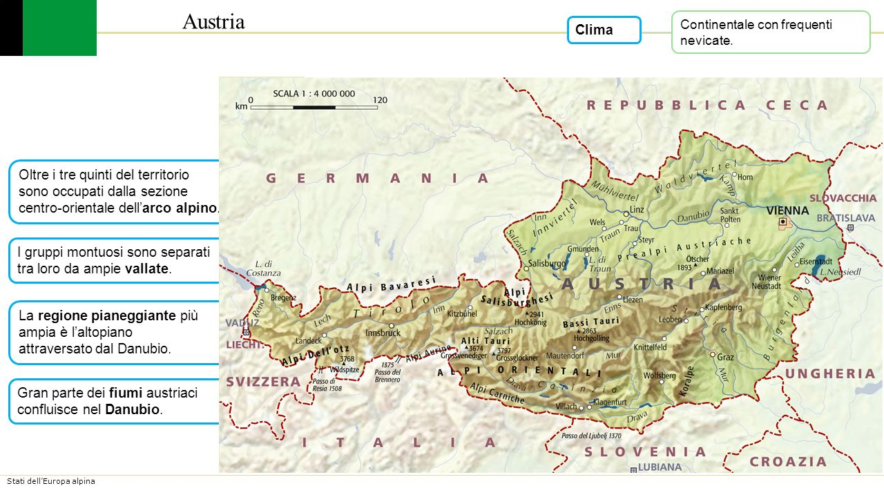 Austria Cartina Turistica.Austria Lessons Tes Teach
