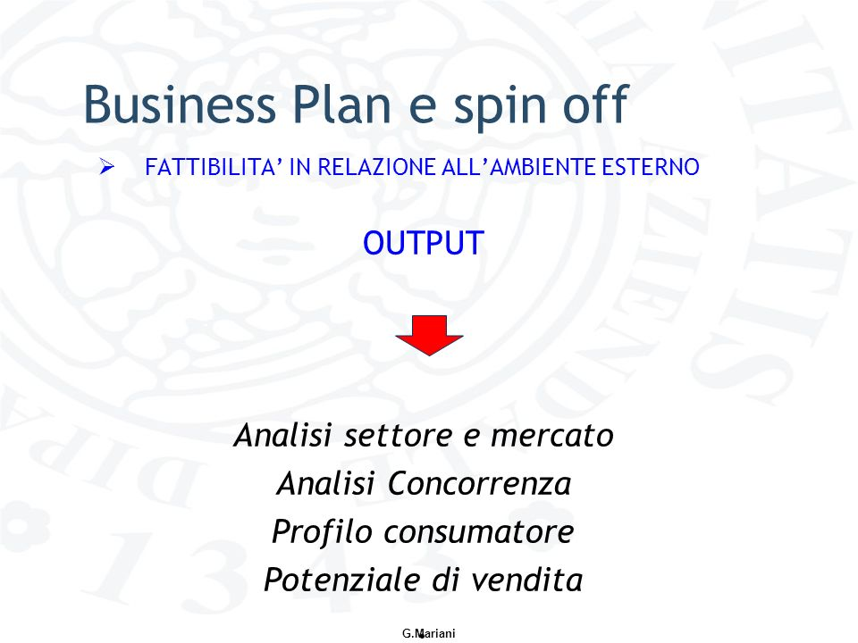 Small business plan - L'analisi di mercato