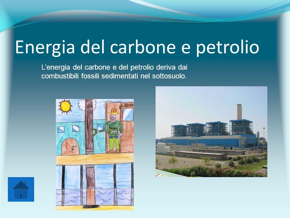 Energia del carbone e petrolio
