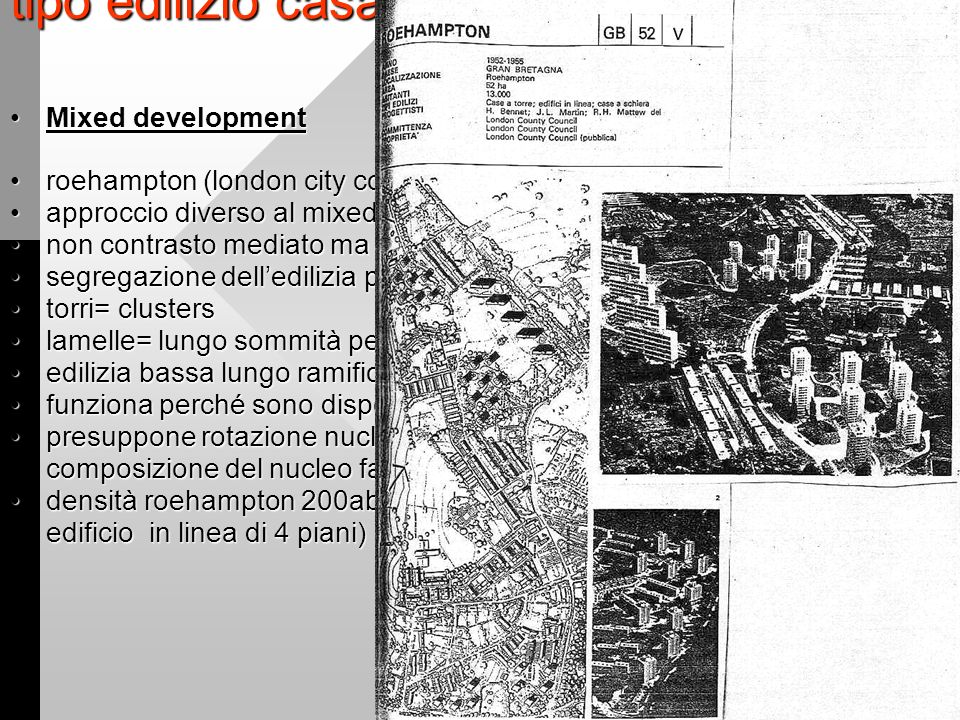 Tipologie edilizie contemporanee ppt video online scaricare for Piani di casa bassa architettura del paese