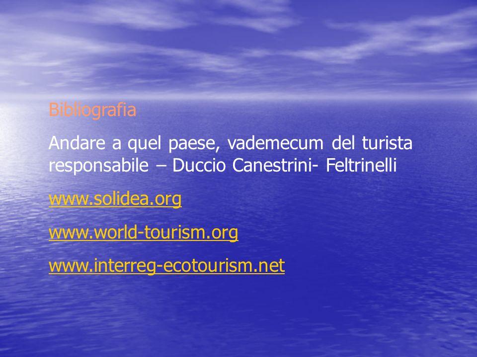 Bibliografia Andare a quel paese, vademecum del turista responsabile – Duccio Canestrini- Feltrinelli.