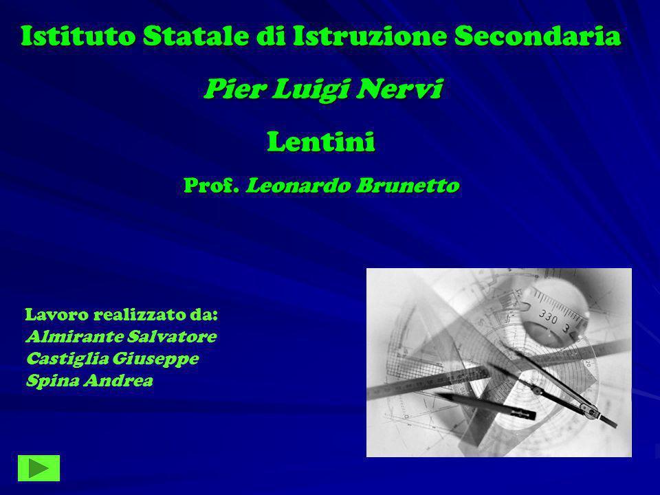 Istituto Statale di Istruzione Secondaria Pier Luigi Nervi Lentini