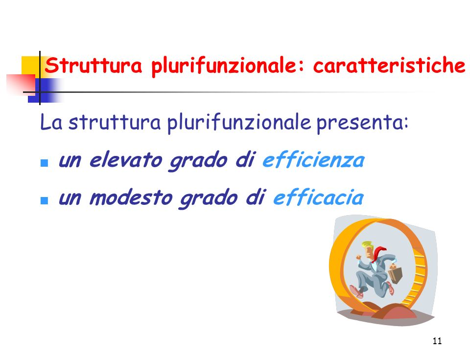 Struttura plurifunzionale: caratteristiche