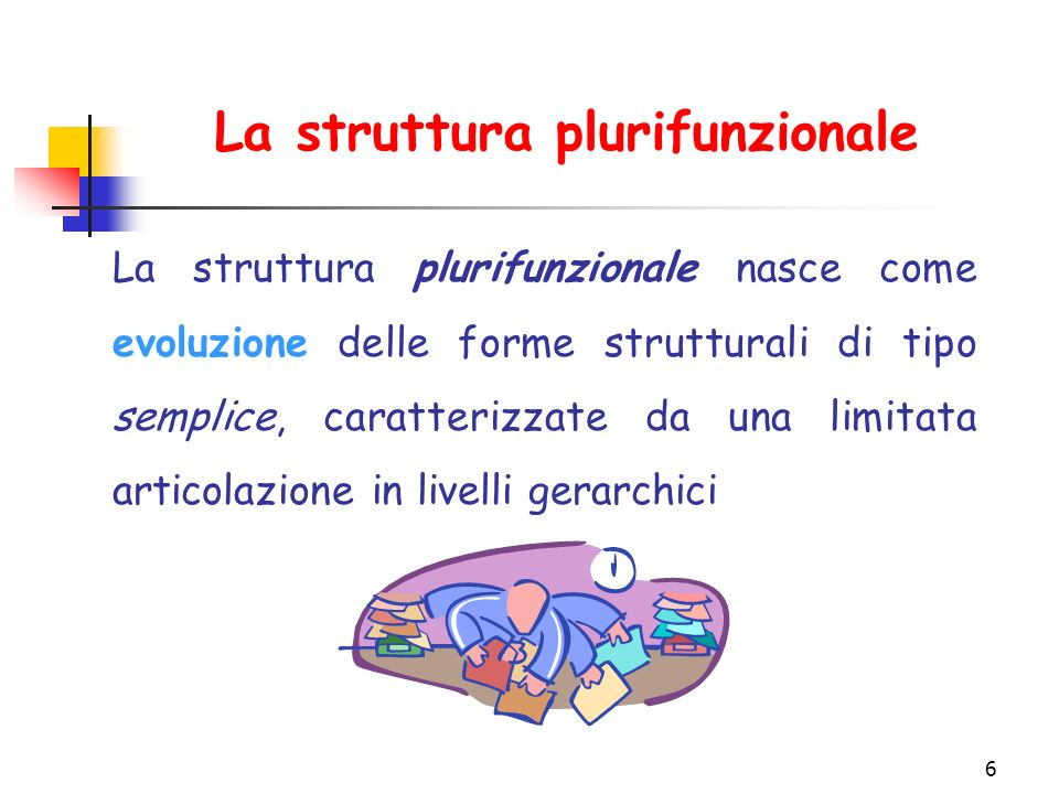 La struttura plurifunzionale
