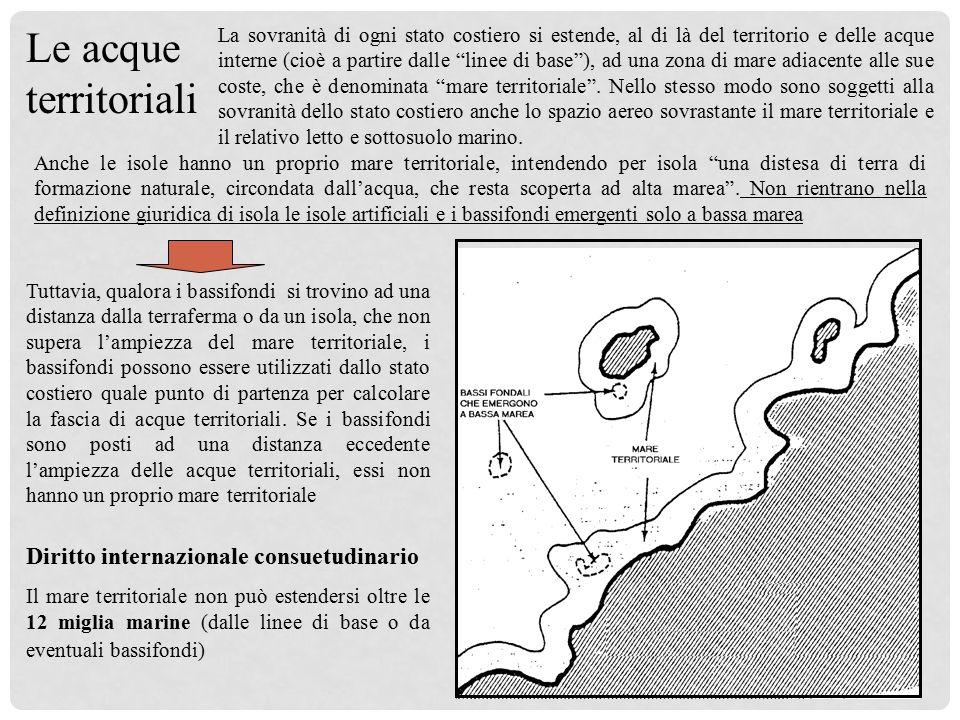 Il mare territoriale art 2 cod nav stato modificato - Si puo portare l ombrello in aereo ...