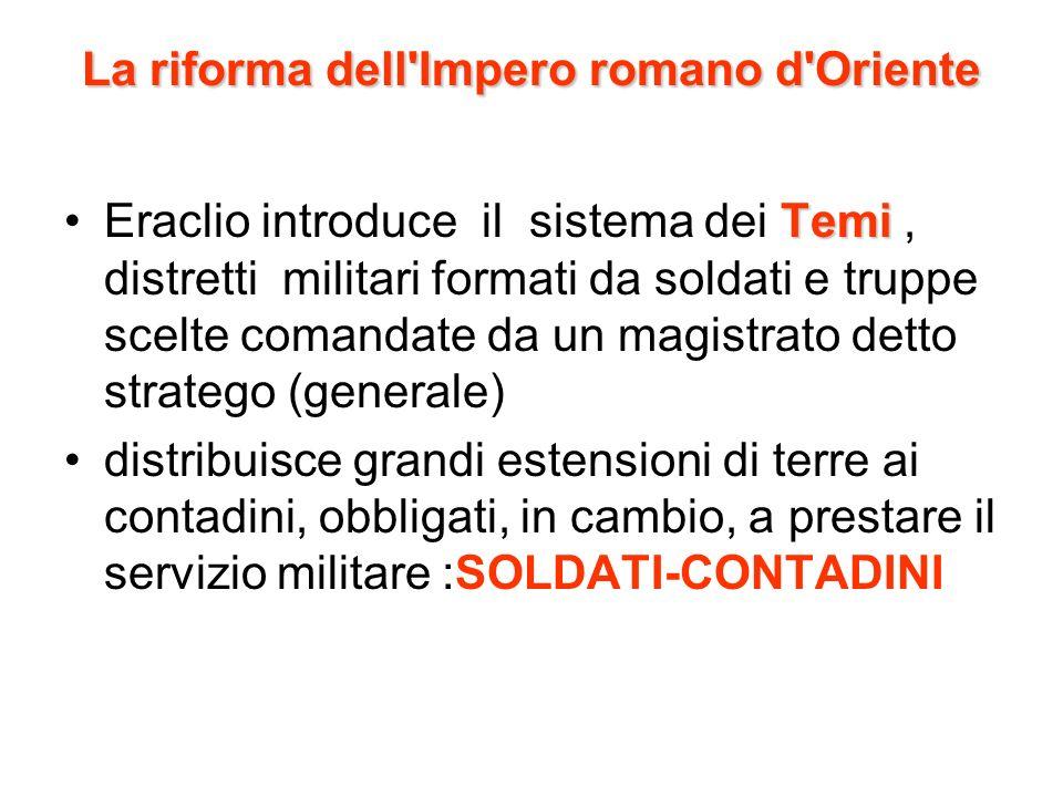 La riforma dell Impero romano d Oriente