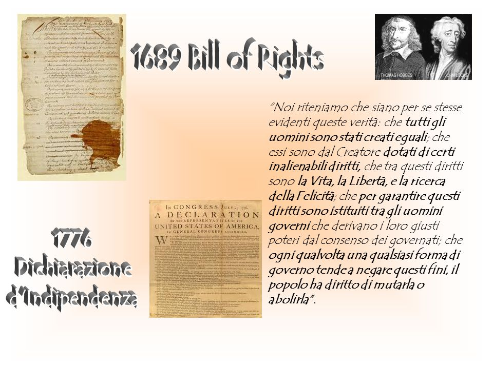 1776 Dichiarazione d Indipendenza