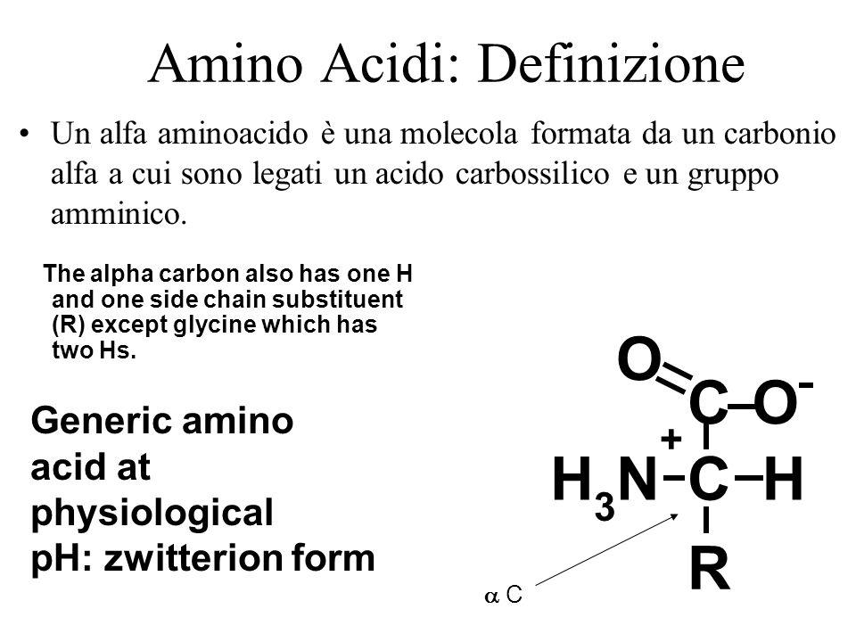 Amino acidi definizione ppt scaricare for Una decorazione e formata da cinque rombi simili