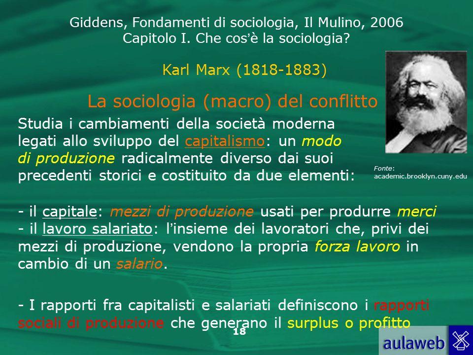 La sociologia (macro) del conflitto