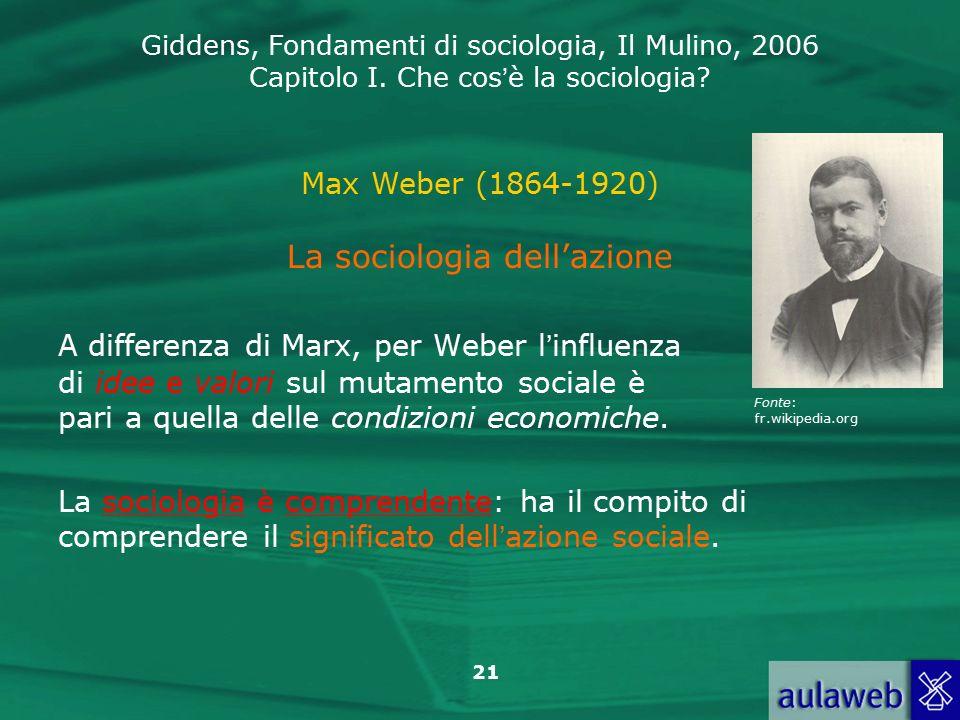 La sociologia dell'azione