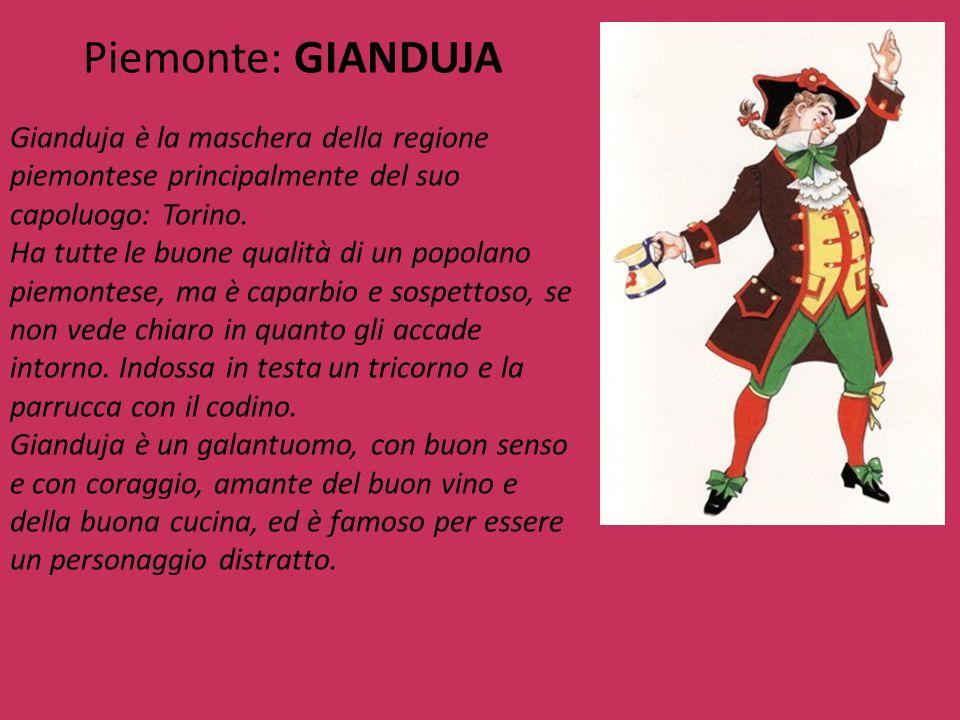 Piemonte: GIANDUJA