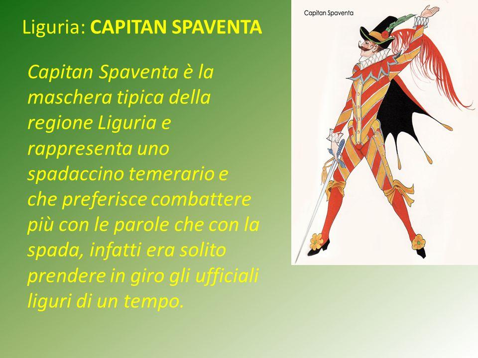 Liguria: CAPITAN SPAVENTA