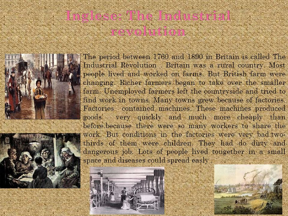 Inglese: The Industrial