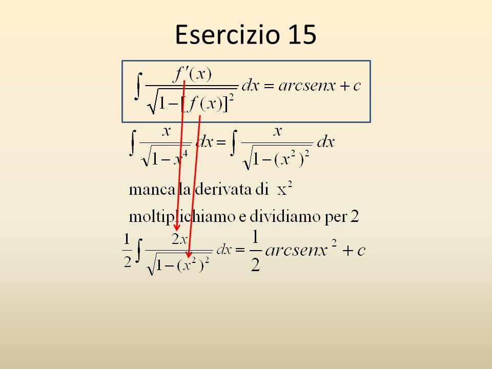 Esercizio 15