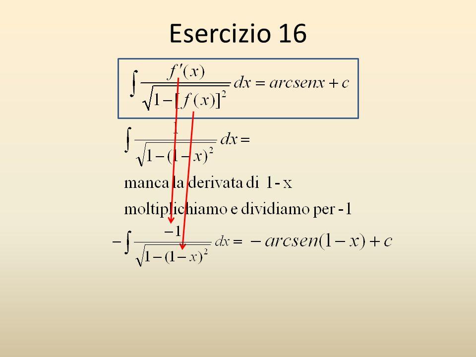 Esercizio 16