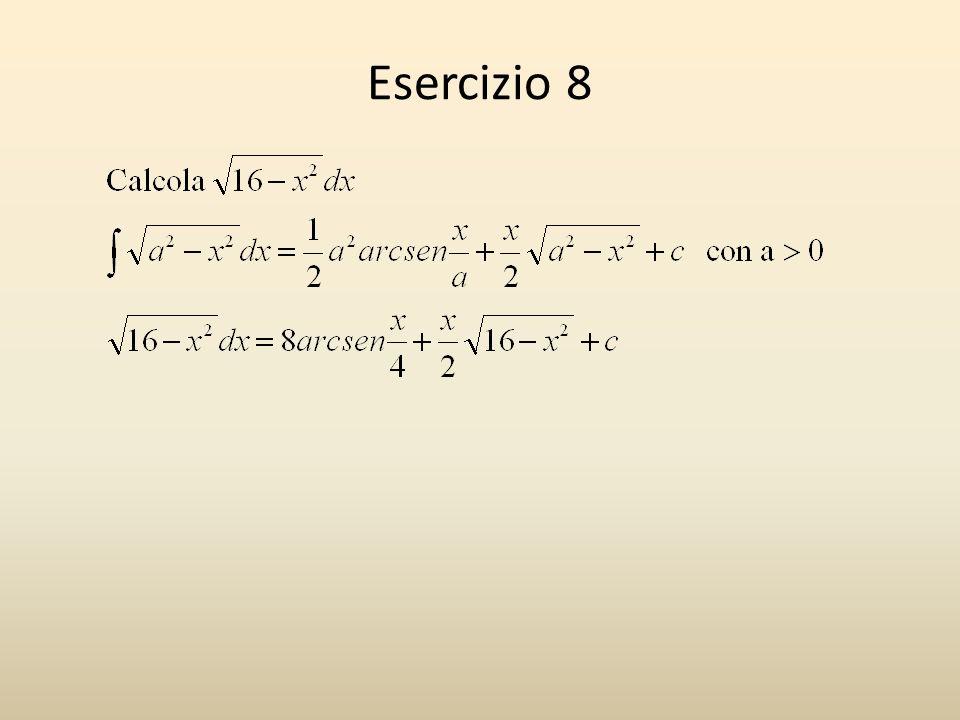 Esercizio 8