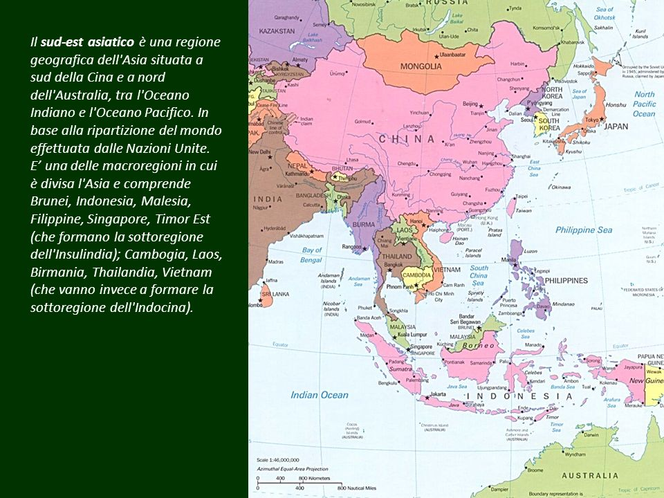 Sud est asiatico e oceania geografia ppt scaricare for Isole da sogno a sud della birmania codycross