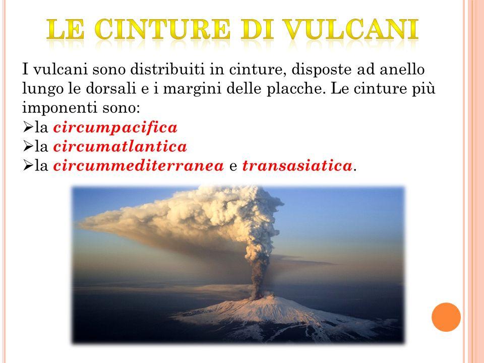 le cinture di vulcani