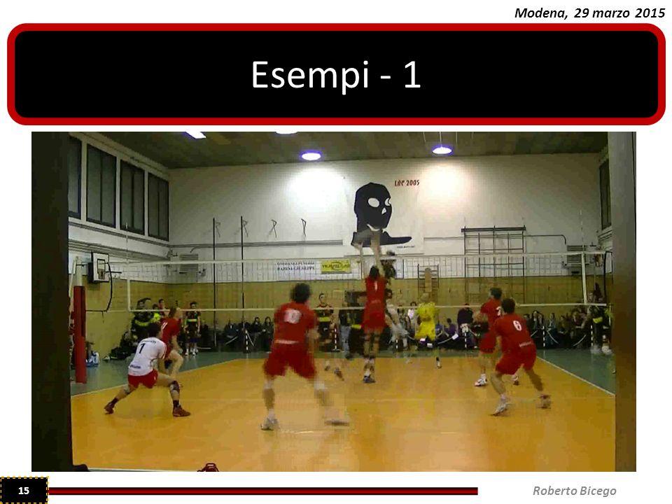 Esempi - 1 Roberto Bicego