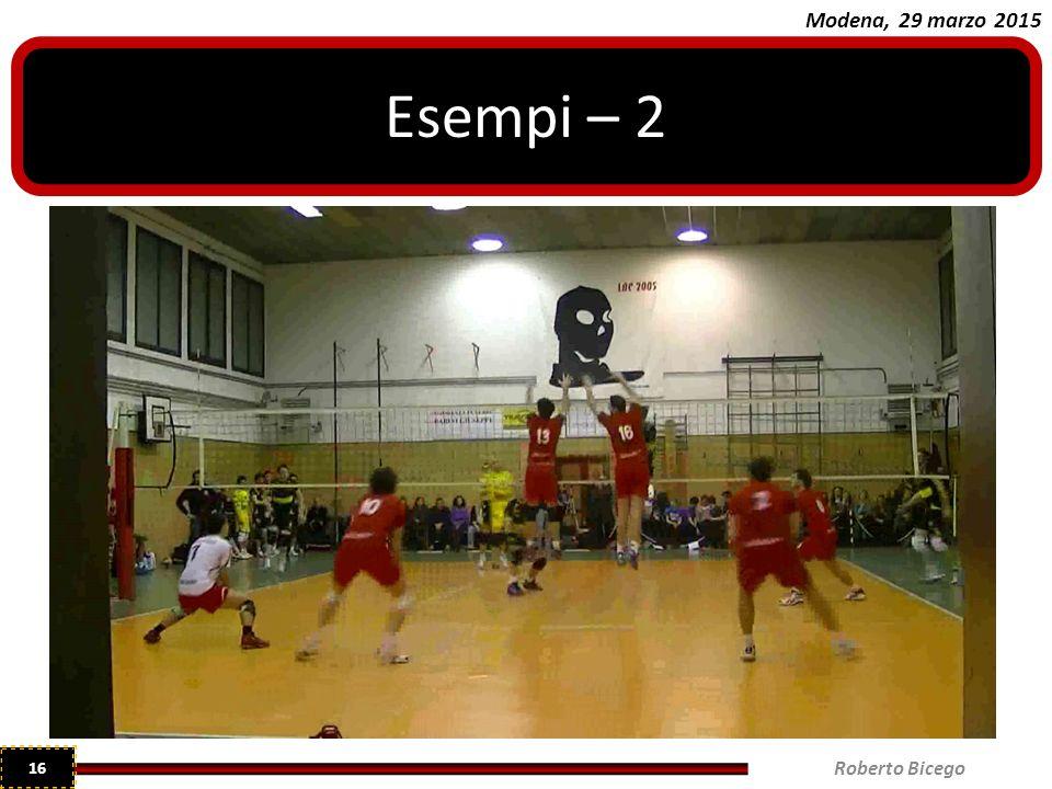 Esempi – 2 Roberto Bicego
