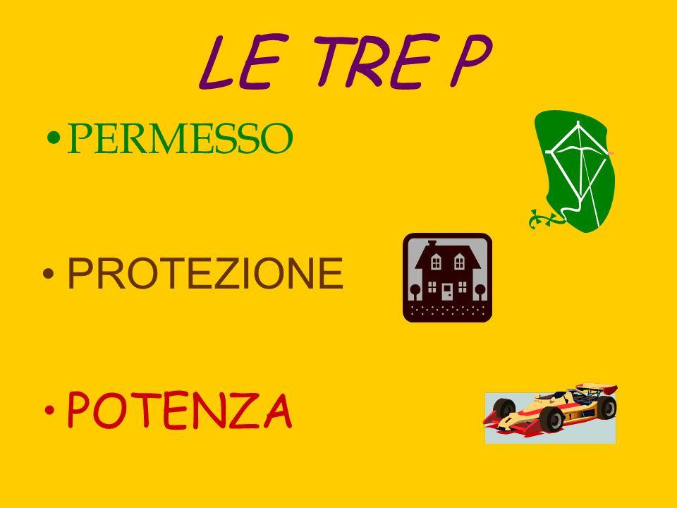 LE TRE P PERMESSO PROTEZIONE POTENZA