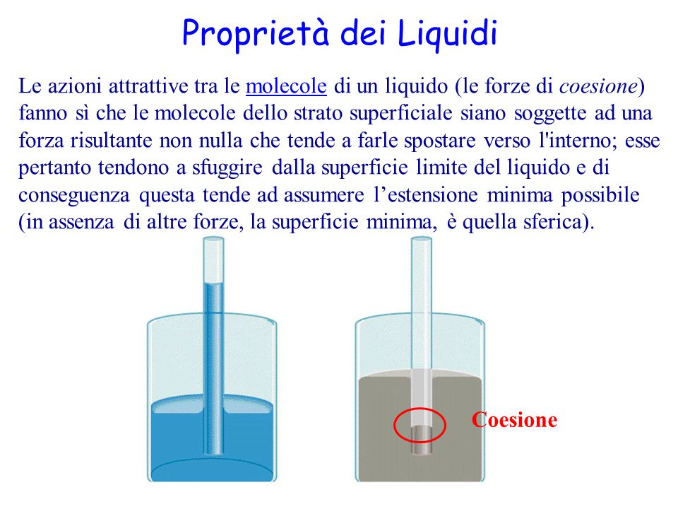 Proprietà dei Liquidi