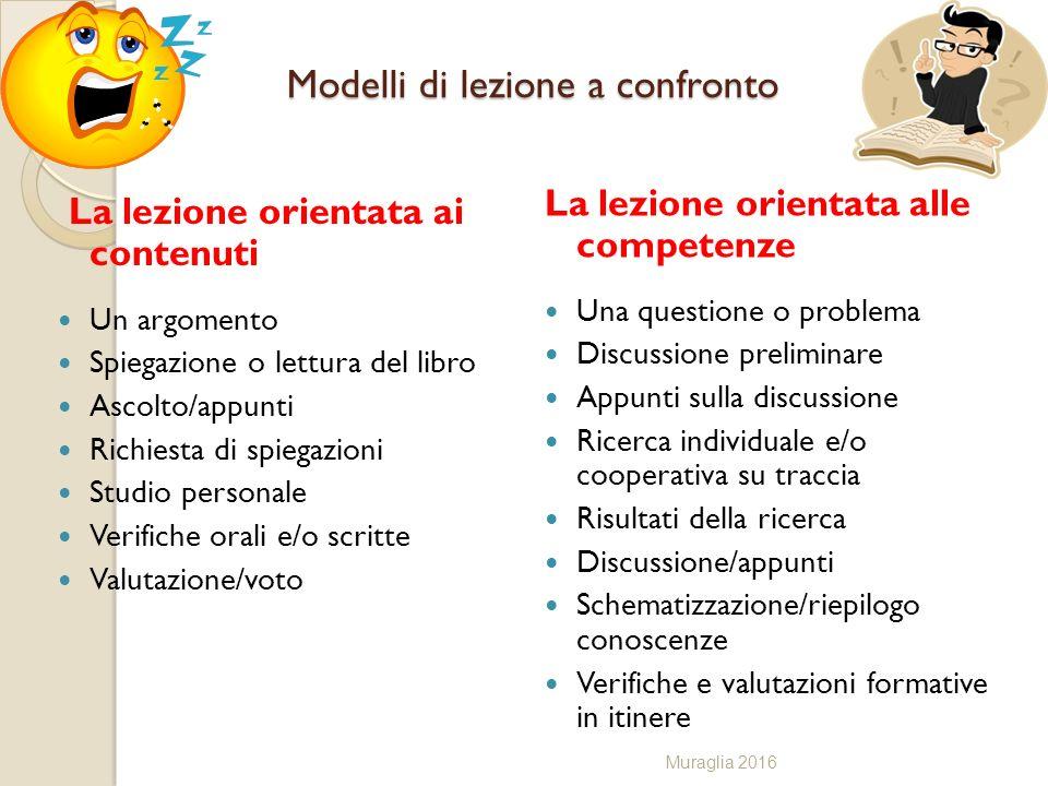 Modelli di lezione a confronto