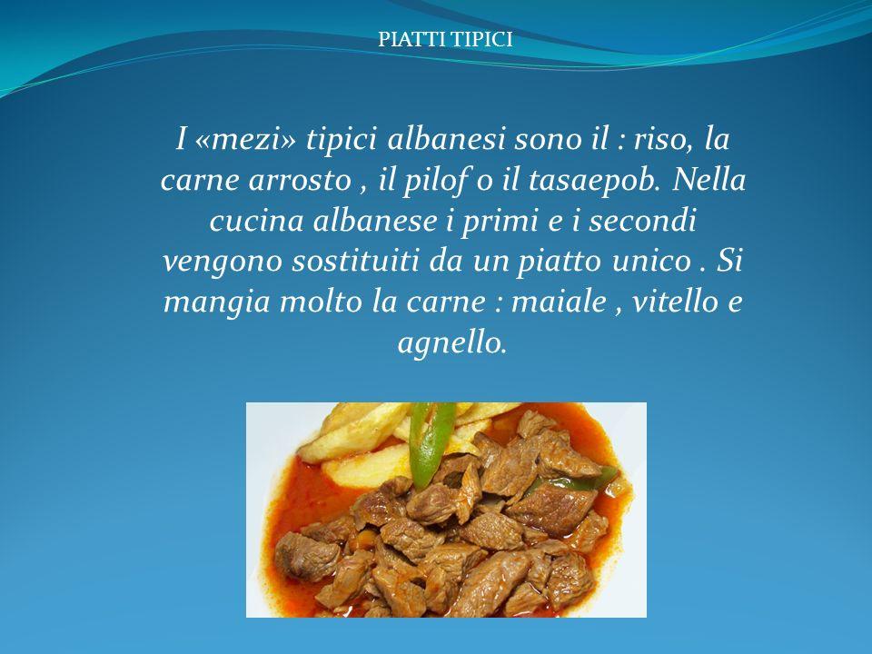 La cucina albanese storia ppt video online scaricare for Cucina romana piatti tipici