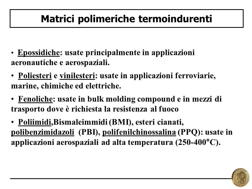 Matrici polimeriche termoindurenti