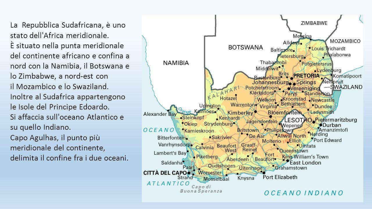 La Repubblica Sudafricana, è uno stato dell Africa meridionale.