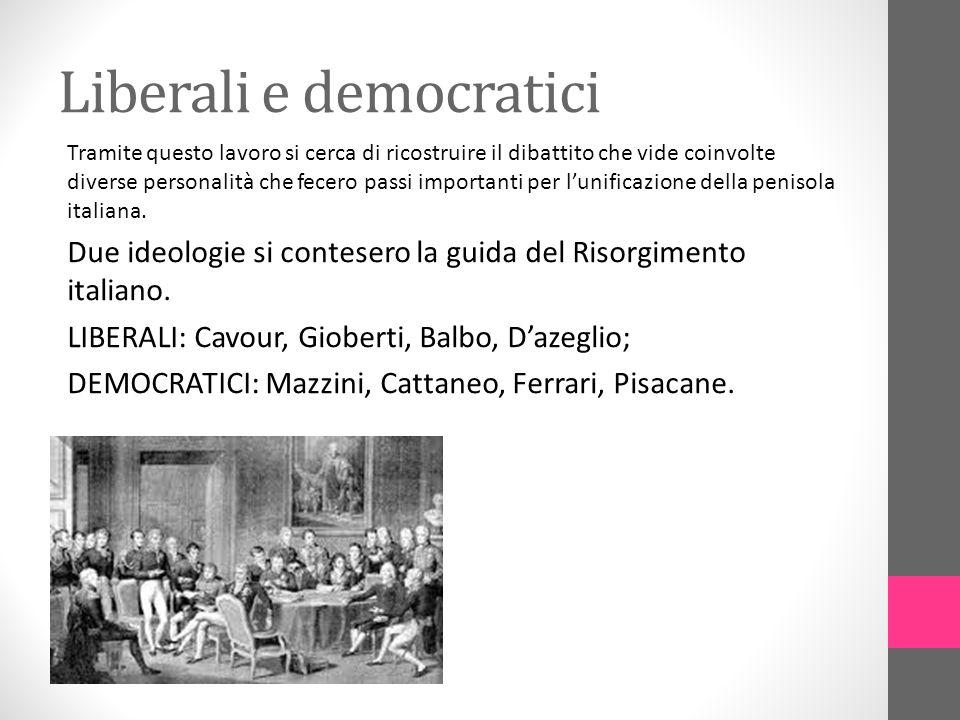 Liberali e democratici