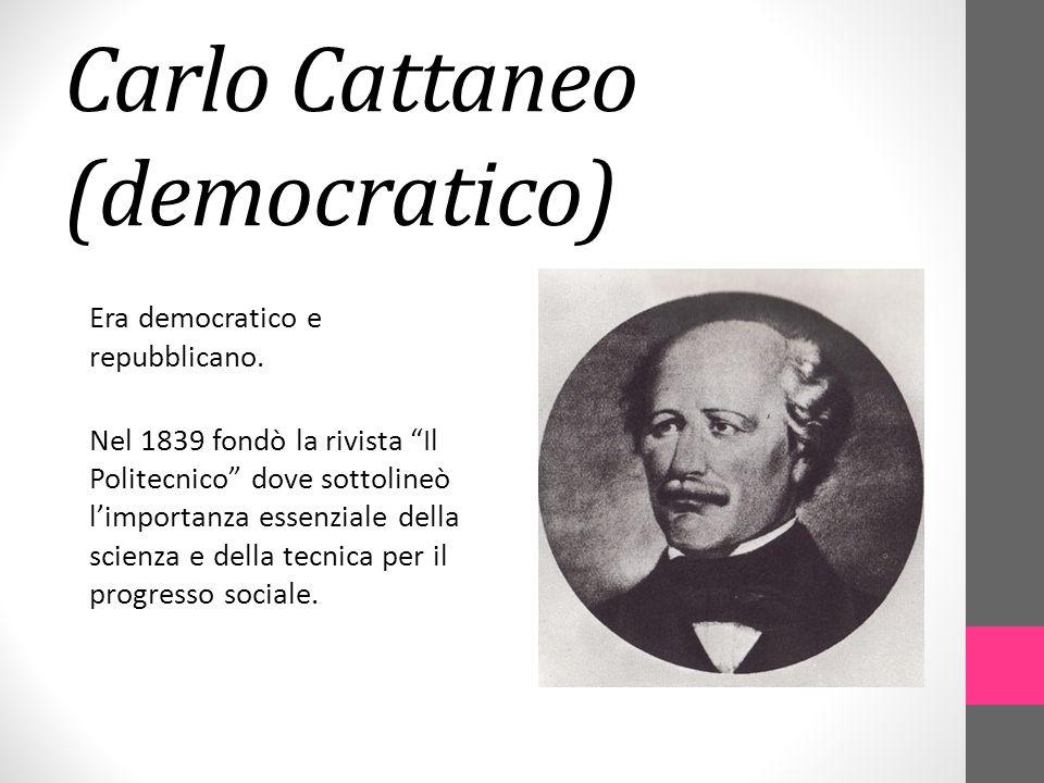 Carlo Cattaneo (democratico)