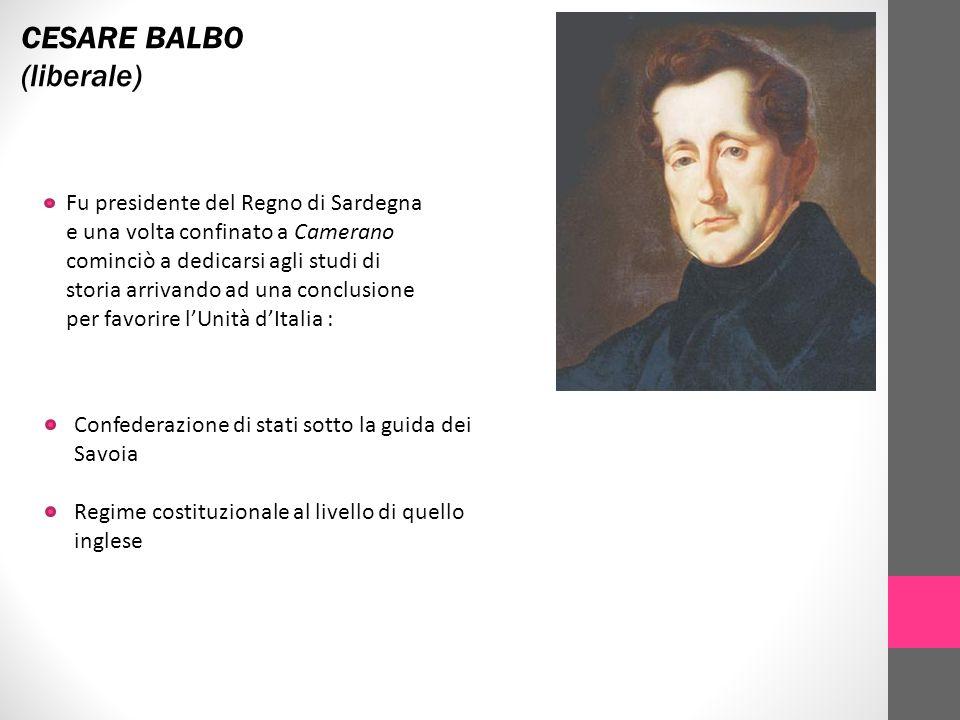 CESARE BALBO (liberale)