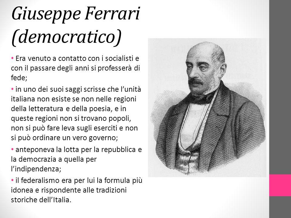 Giuseppe Ferrari (democratico)