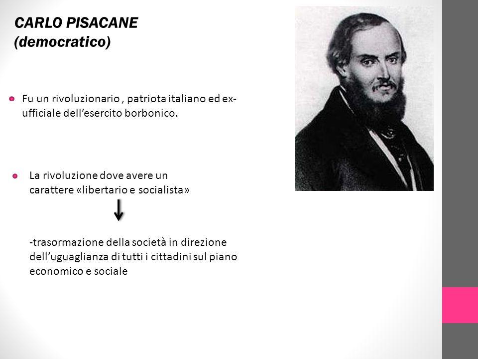 CARLO PISACANE (democratico)