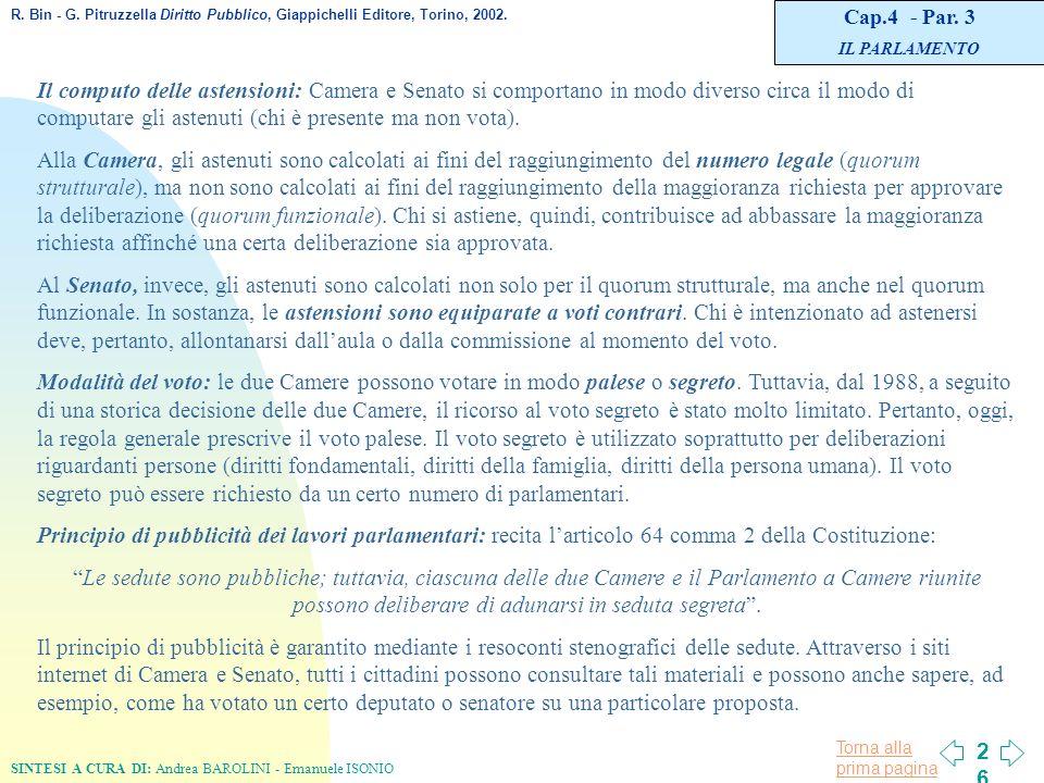 L organizzazione costituzionale in italia ppt scaricare for Numero parlamentari italia
