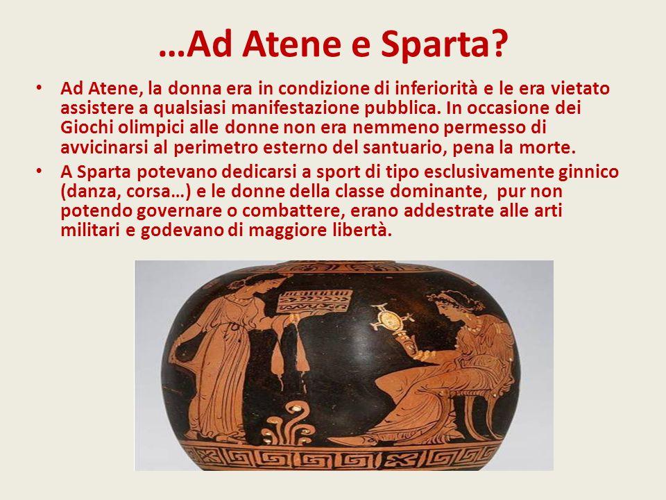 …Ad Atene e Sparta
