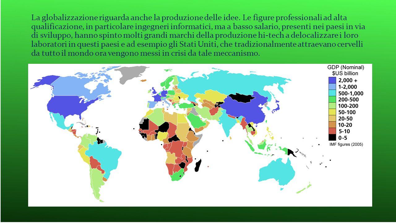 La globalizzazione riguarda anche la produzione delle idee
