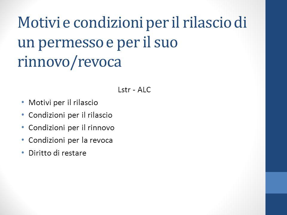 Best Revoca Carta Di Soggiorno Ideas - Modern Design Ideas ...