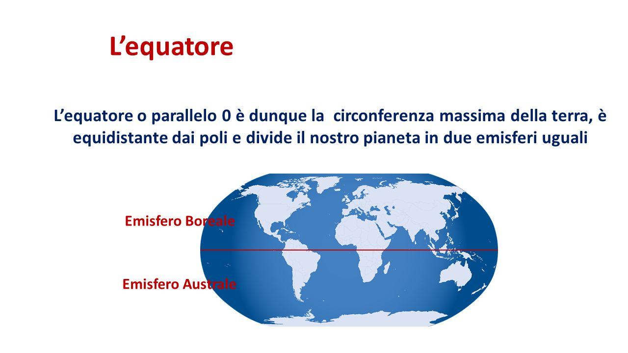 L'equatore