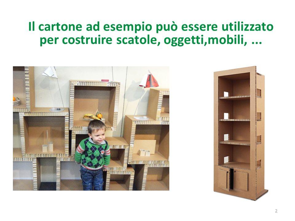 Cosa possiamo fare con la carta ppt scaricare - Costruire mobili in cartone ...