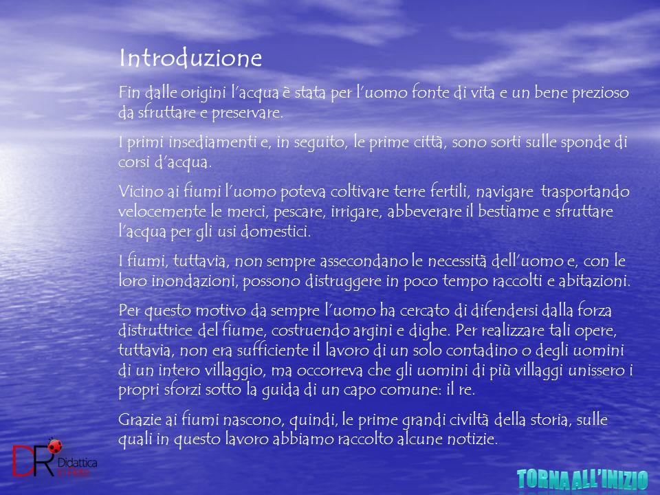TORNA ALL'INIZIO Introduzione