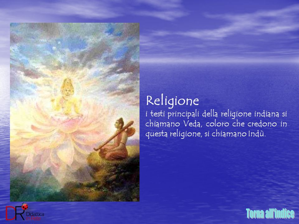 Torna all indice Religione