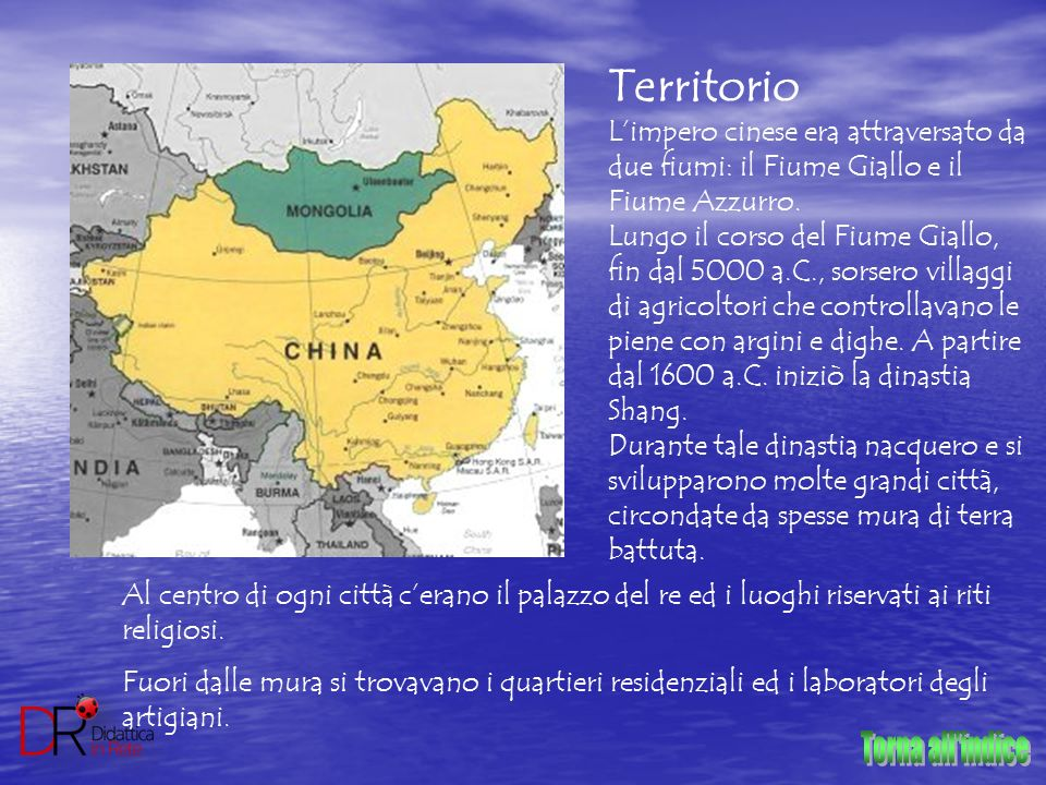 Torna all indice Territorio