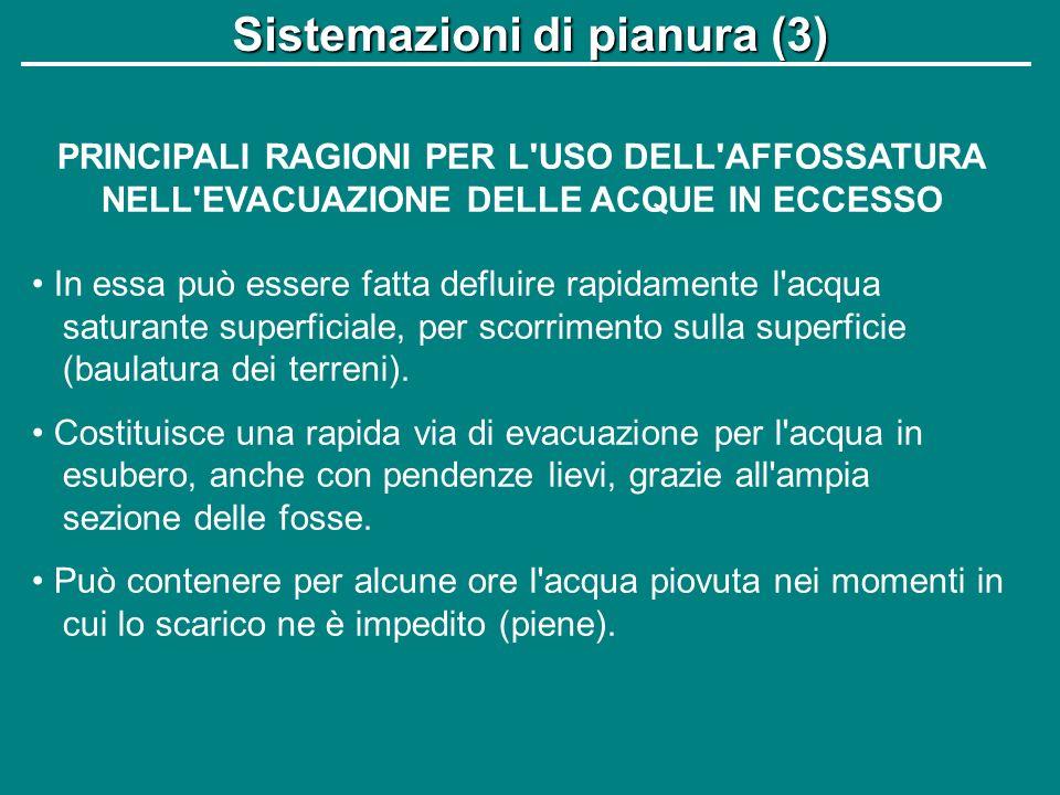Sistemazioni di pianura (3)