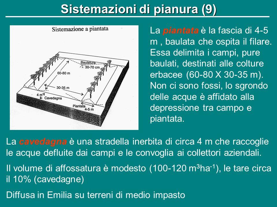 Sistemazioni di pianura (9)